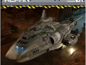 2nd Dynasty Starships Alpha Shuttle.