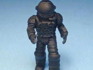 28mm Astronaut/spaceman figure walking.