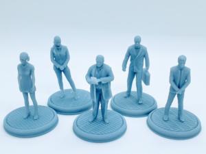 Corporate Company Miniatures set.