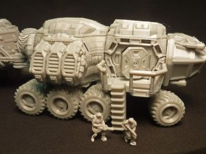 15mm rescaled `Scarab` Wheeled Vehicle