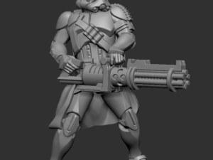 Battle Front Heavy Trooper Sentry