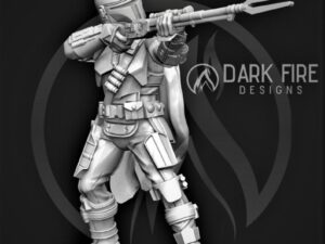 The Crusader with Rifle.