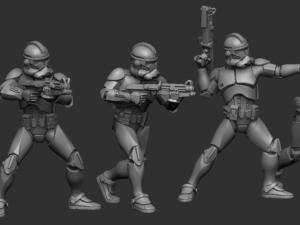Phase 2 Standard squad set.