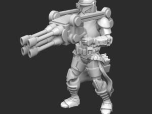 Alpha Class Quad Gunner