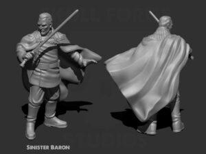 Sinister Baron miniature