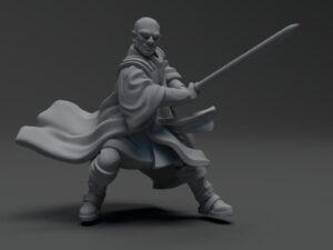 Wizard Warrior Gindu