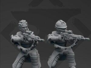 Widowmaker Sniper Bounty Hunter(Kneeling)